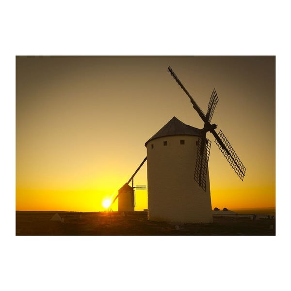Dywan winylowy Windmill, 52x75 cm