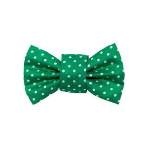 Mucha dla psa Funky Dog Bow Ties, roz. S, w zielone kropki