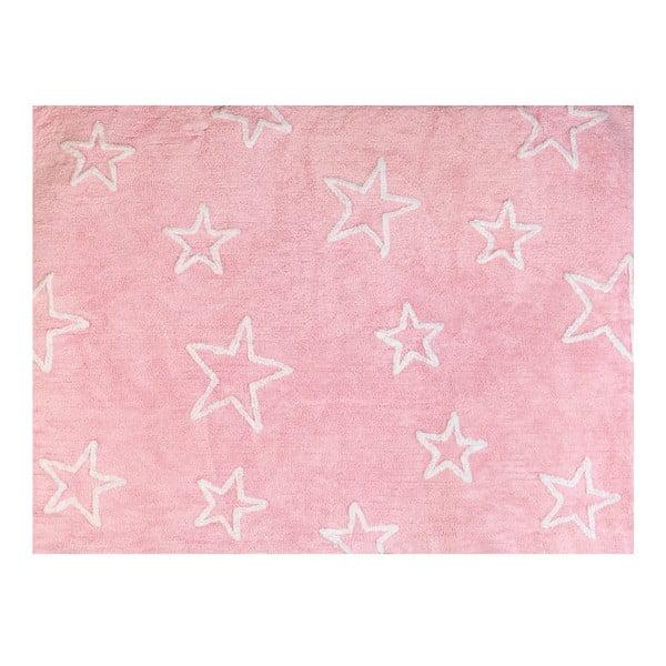 Dywan Estrella 160x120 cm, różowy