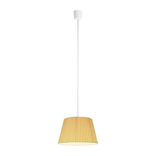 Kremowa lampa sufitowa Bulb Attack Dos Plisado M