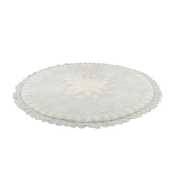 Naturalny ręcznie tkany dywan dziecięcy Nattiot Warren, ⌀ 110 cm