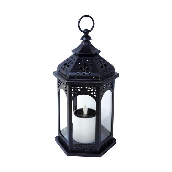 LED lampion na baterie słoneczne Warm 36 cm, czarny