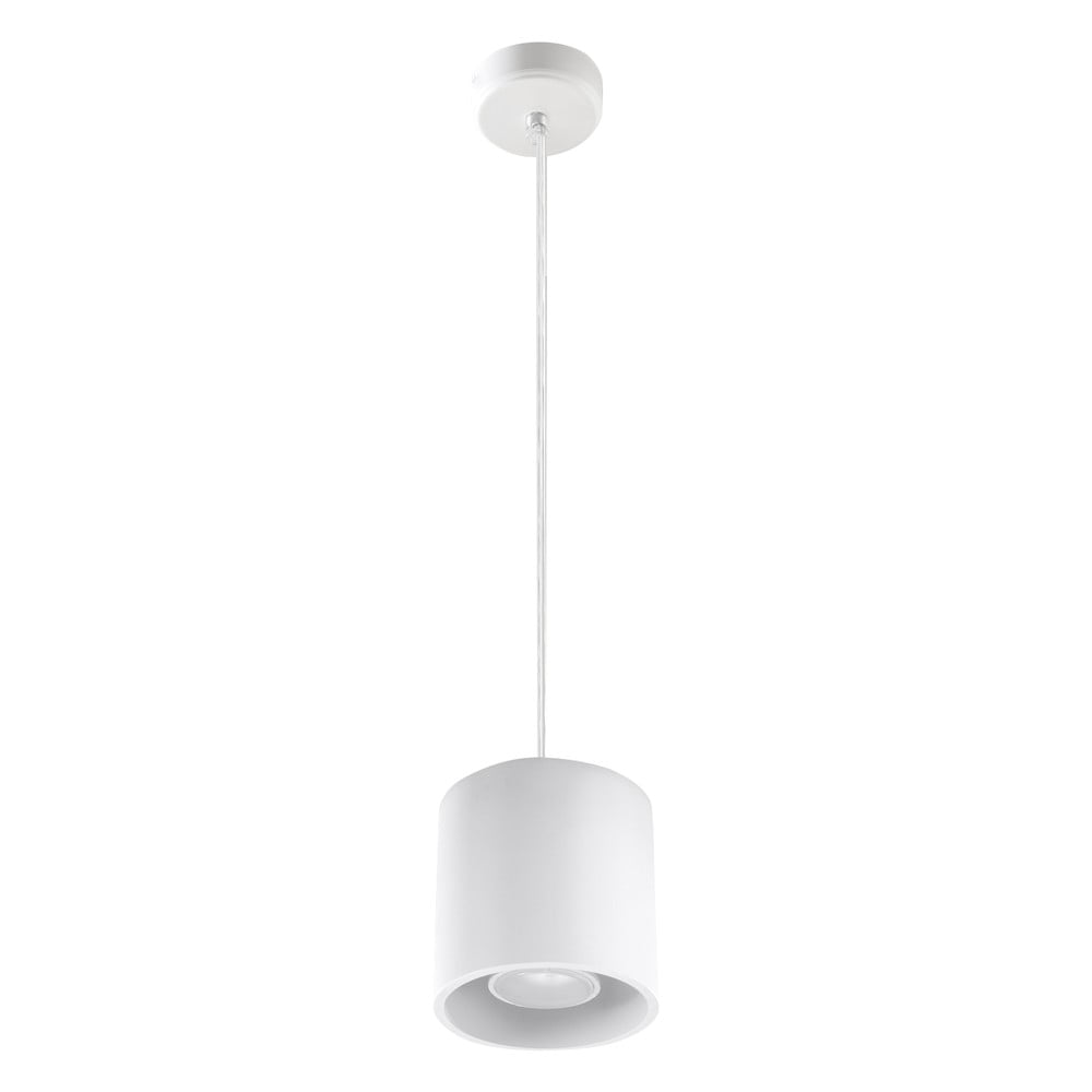 Biała lampa wisząca Nice Lamps Roda