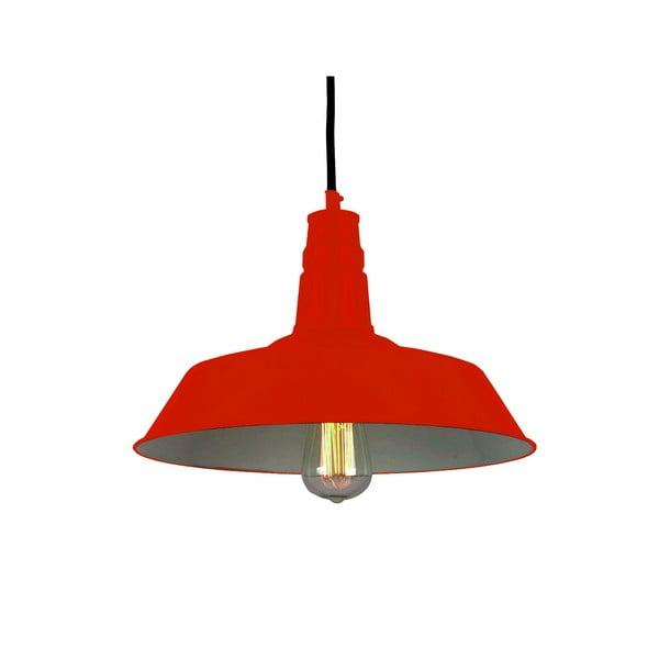 Lampa sufitowa Berlin, czerwona