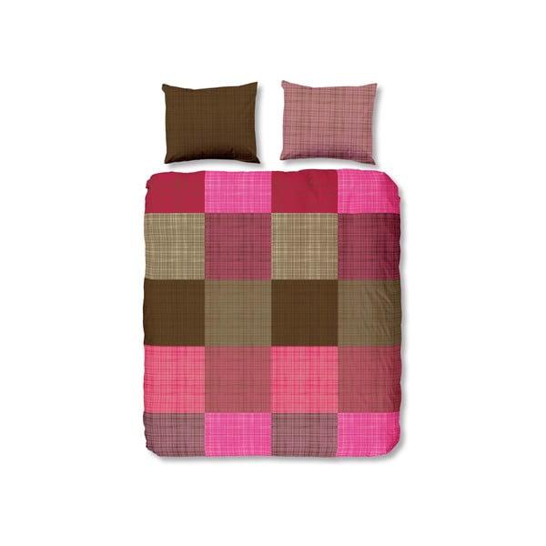 Pościel Streets Pink, 140x200 cm