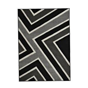 Dywan Matrix Grey Black 120x170 cm