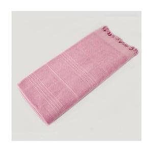 Ręcznik hammam Beach Style Pink, 90x180 cm