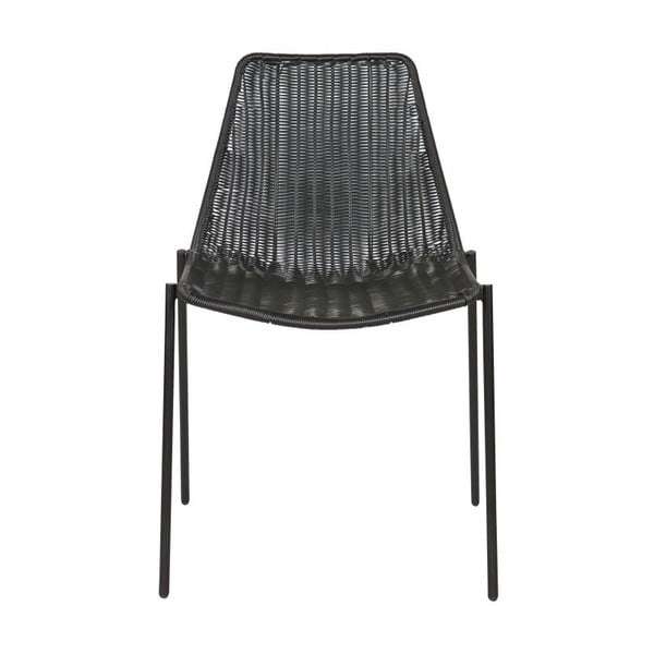 Zestaw 2 krzeseł Morris Black
