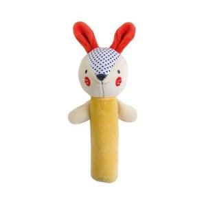 Zabawka pluszowa z dźwiękiem Petit collage Bunny