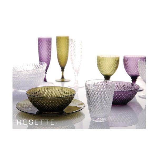 Kieliszek do wina Rosette, niebieski