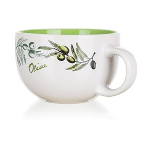 Kubek ceramiczny Banquet Olives, 660 ml