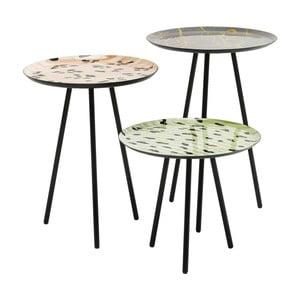 Zestaw 3 stolików Kare Design Tifi