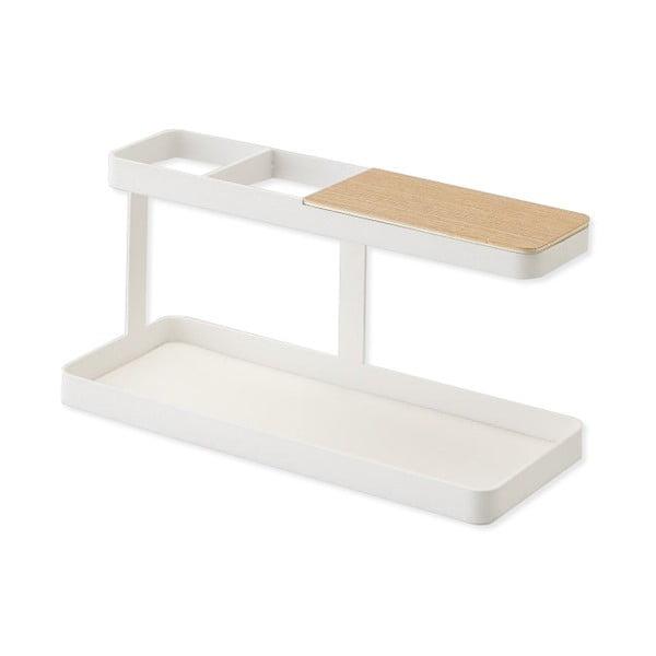 Biały stojak uniwersalny Yamazaki Tower Desk Bar