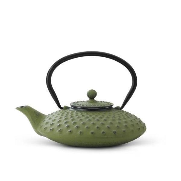 Zielony czajnik Bredemeijer Xilin, 0,8 l