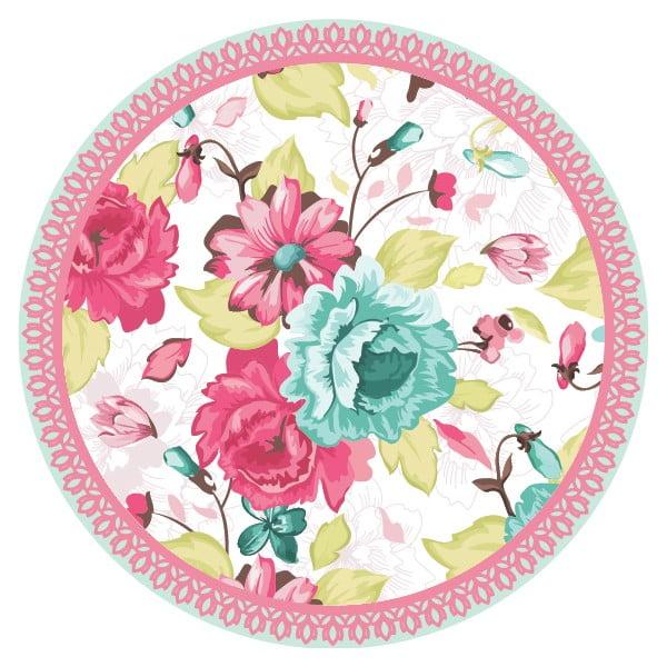 Zestaw 2 mat stołowych Flower Mix