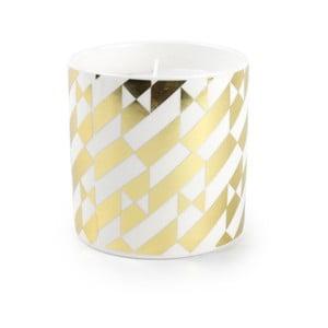 Świeczka w naczyniu ceramicznym Salt&Pepper Gold Glow