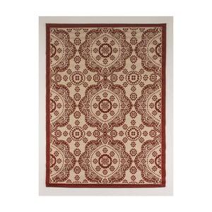 Czerwono-beżowy dywan odpowiedni na zewnątrz Casa Sisal, 150x80 cm