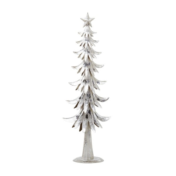 Dekoracja Archipelago Silver Metal Tree, 47 cm