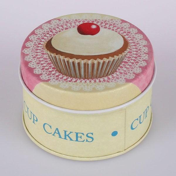 Blaszany pojemnik Cup Cakes