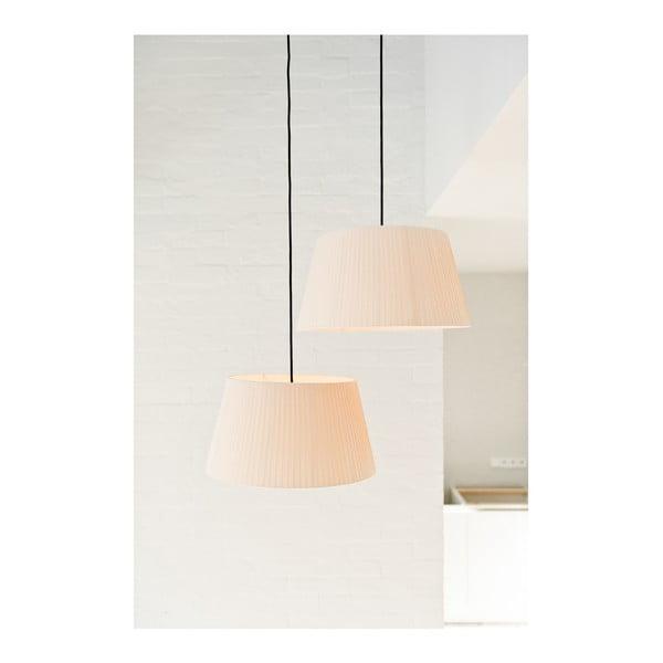 Lampa wisząca Tres L, czerwona/biała