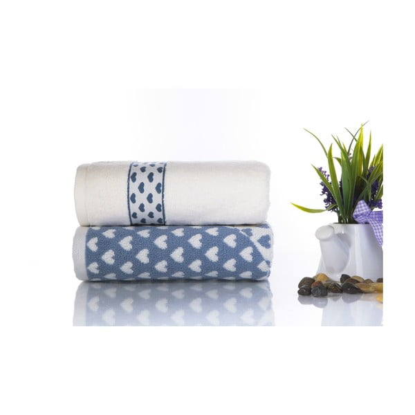 Zestaw 2 ręczników Danny V4, 50x90 cm