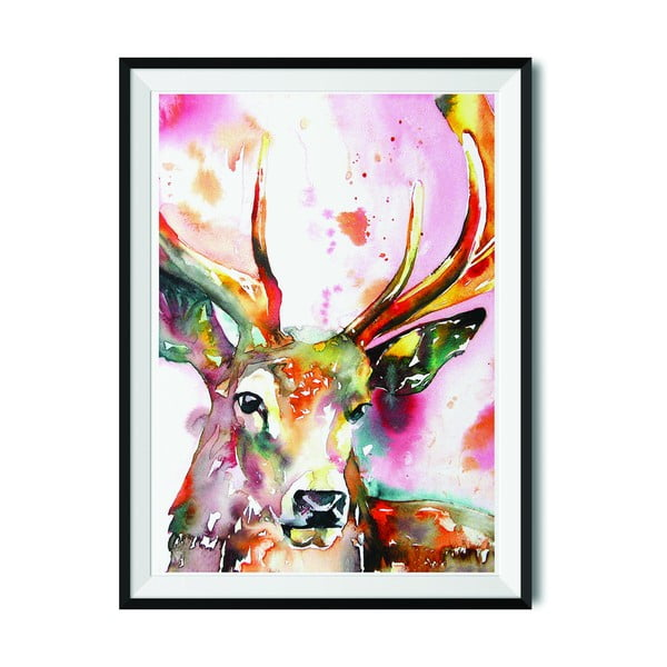 Plakat Wraptious Red Stag