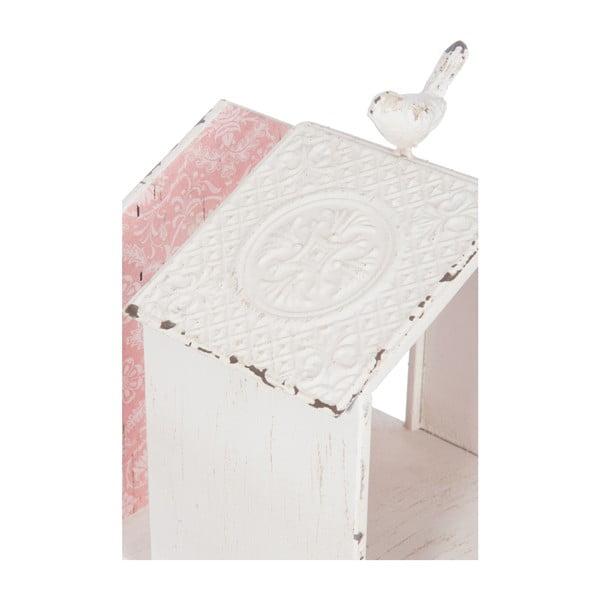 Karmnik dla ptaków White Pink