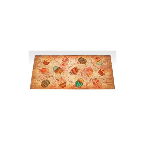 Wytrzymały dywan kuchenny Webtapetti Cakes, 60x115 cm