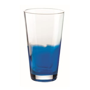 Niebieska szklanka Fratelli Guzzini Mirage