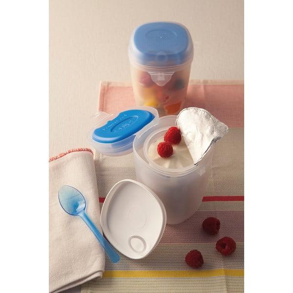Chłodzący pojemnik na jogurt z łyżeczką Yogurt Box