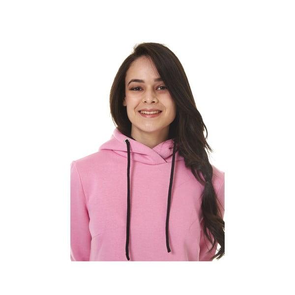 Domowa długa bluza Streetfly Pink, L
