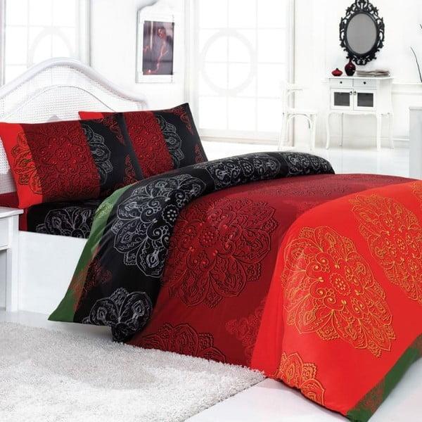 Komplet pościeli Frappe Red, 200x220 cm