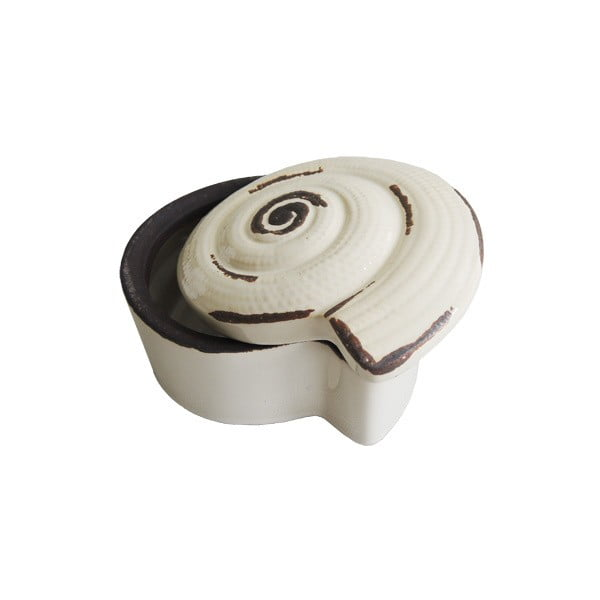 Ceramiczna szkatułka na biżuterię Shell II