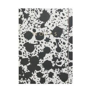 Notes A4 Portico Designs Splat, 160 str.