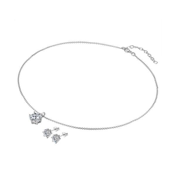 Naszyjnik i kolczyki Gloss Crystal