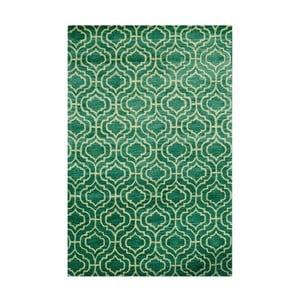 Dywan tuftowany ręcznie Dallas, 244x153cm, zielony