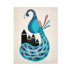 Plakat Michelle Carlslund Peacock, 50x70cm