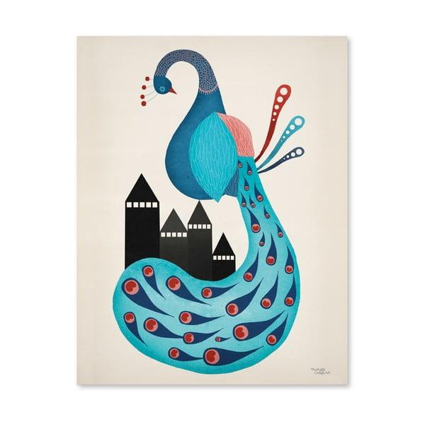 Plakat Michelle Carlslund Peacock, 30x40cm