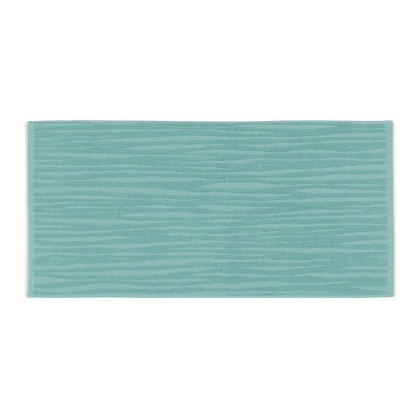 Miętowy ręcznik Kela Lindano, 50x100 cm