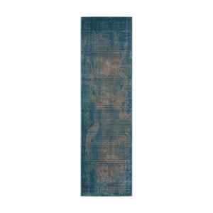 Chodnik Nourison Karma Blu, 229x66cm
