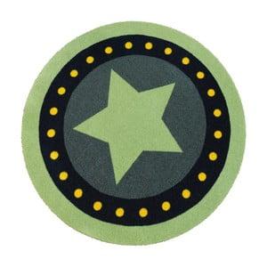 Zielony dywan dziecięcy Zala Living Deko Star,, ⌀100cm