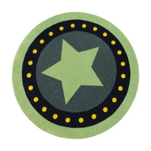 Dywan Deko - zielona gwiazda, 100 cm