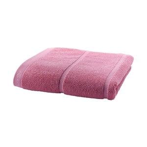 Jasnoróżowy ręcznik Aquanova Adagio, 55x100cm