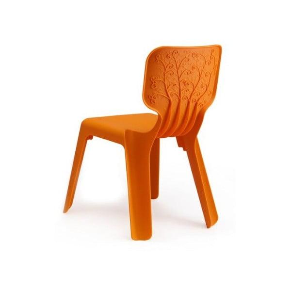 Krzesło dziecięce Alma, pomarańczowe