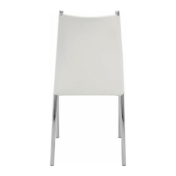 Zestaw 4 białych krzeseł Støraa Zulu