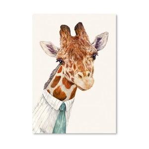 """Plakat """"Mr. Giraffe"""", 30x42 cm"""