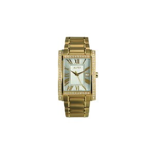 Zegarek męski Alfex 5662 Yelllow Gold/Yellow Gold