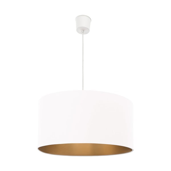 Lampa sufitowa Gold Inside One White