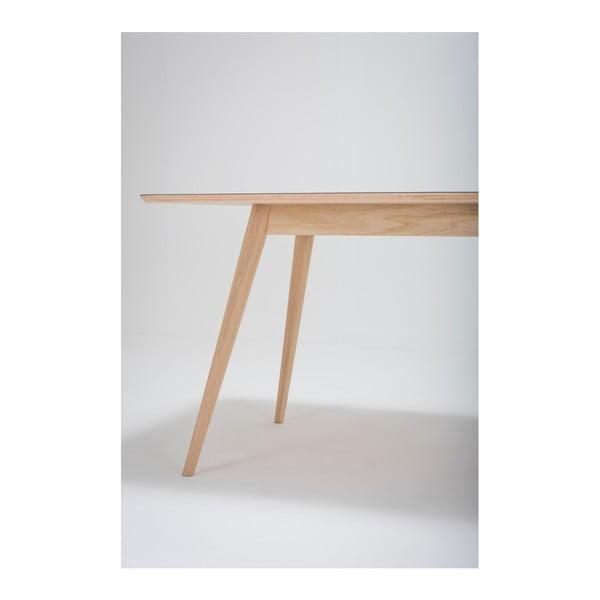 Stół z drewna dębowego Gazzda Linn, 140x90x75 cm