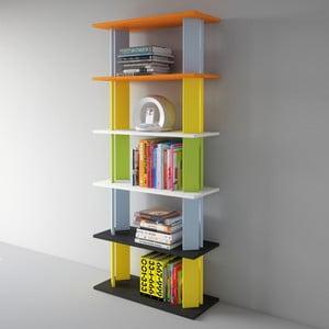 Biblioteczka Replay 186x80 cm, kolorowa